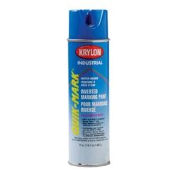 So3620 krylon blue upside down spray paint water based for Upside down paint sprayer